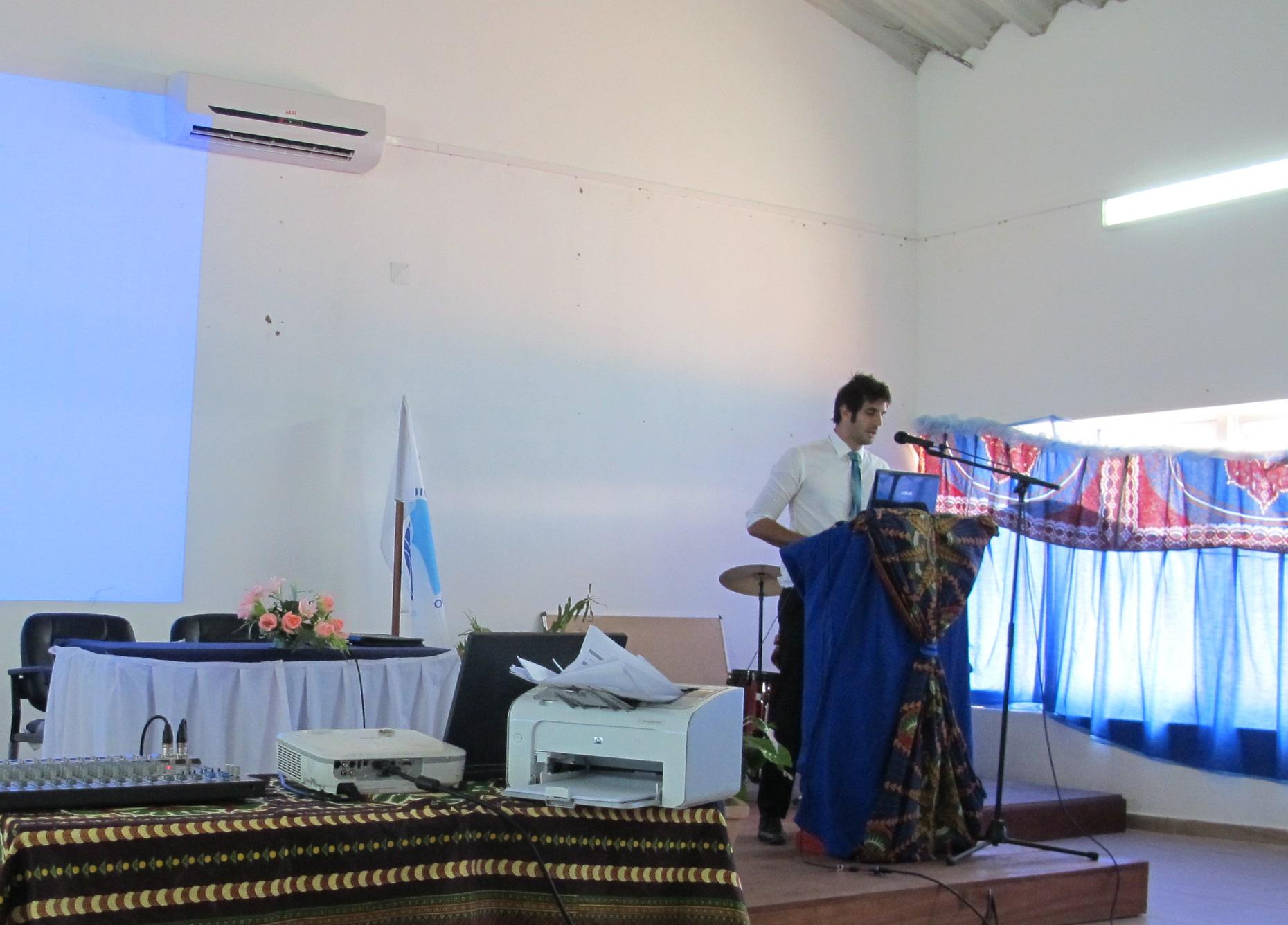 Conférence à Pemba sur les îles du Mozambique 271