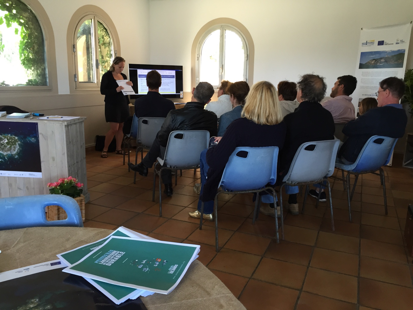 Cap sur l'île du Grand-Rouveau : expositions et conférence 226
