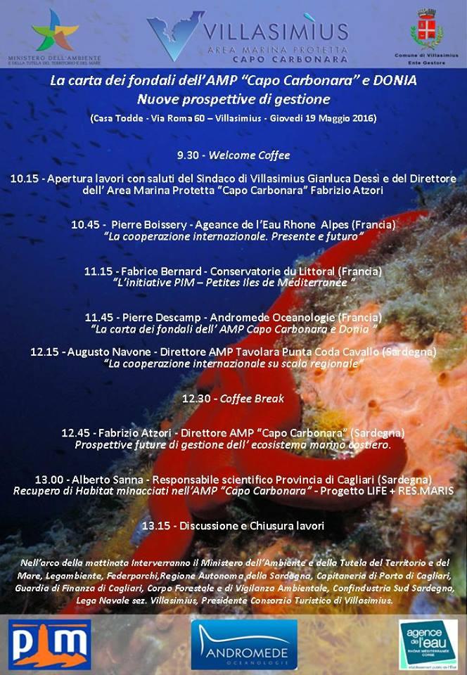 Restitution de la cartographie sous-marine de l'Aire Marine Protégée de Capo Carbonara 236