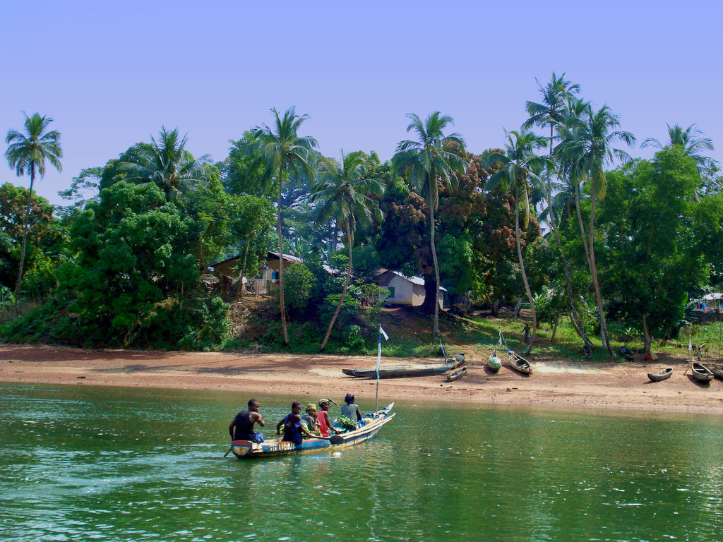 Une semaine d'activités avec les communautés locales sur l'ile de Tasso au Sierra Leone !