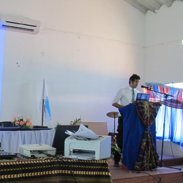 Conférence à Pemba sur les îles du Mozambique