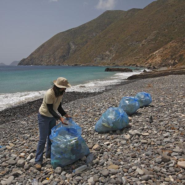 Restauration écologique des rivages de la Galite en Tunisie.